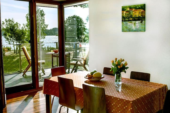 Apartament with a Lake View - Rynia - Lakás