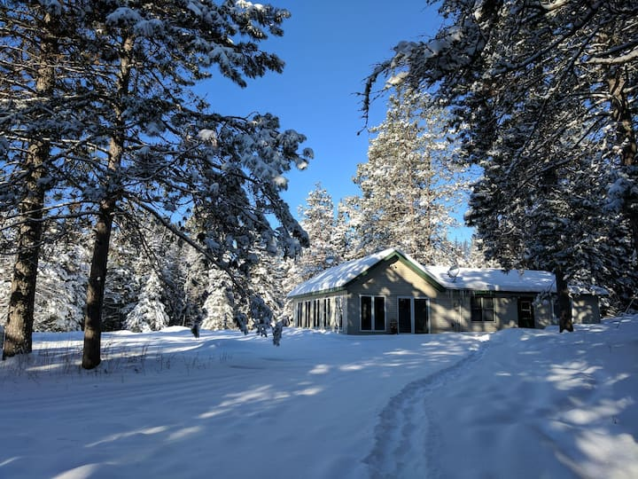 Northwoods Wilderness Hideaway - Winter Wonderland