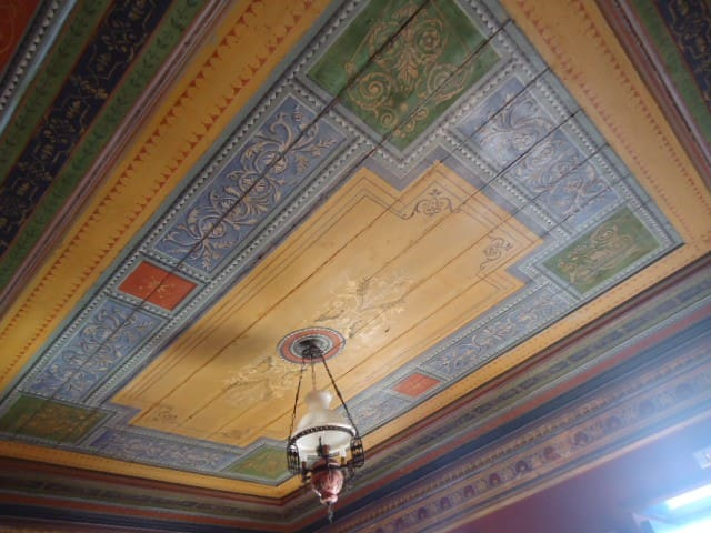 Antique Painted Ceiling