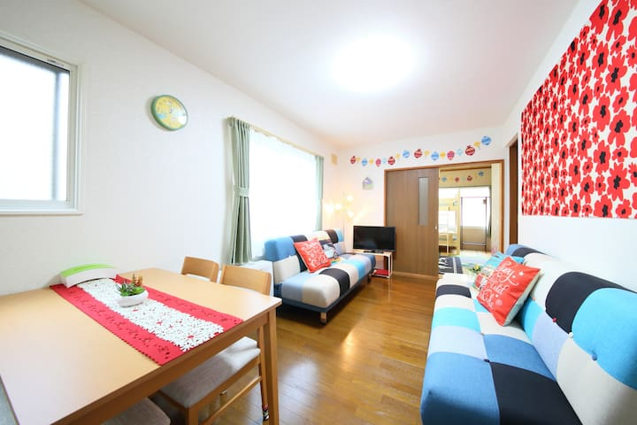 Only a 5-minute walk from Otaru Station! 101
