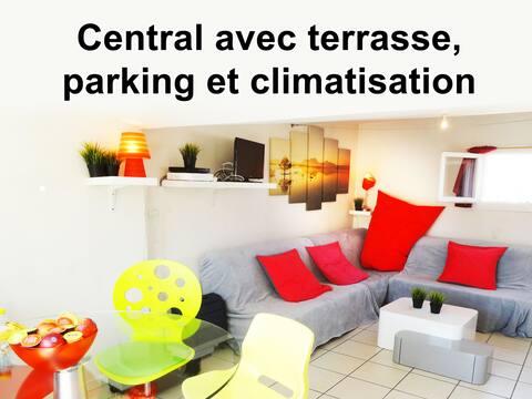 Comédie Terrasse-panoramique PARKING OFFERT Clim