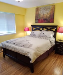 Comfortable Bedroom with private bathroom. - Coquitlam