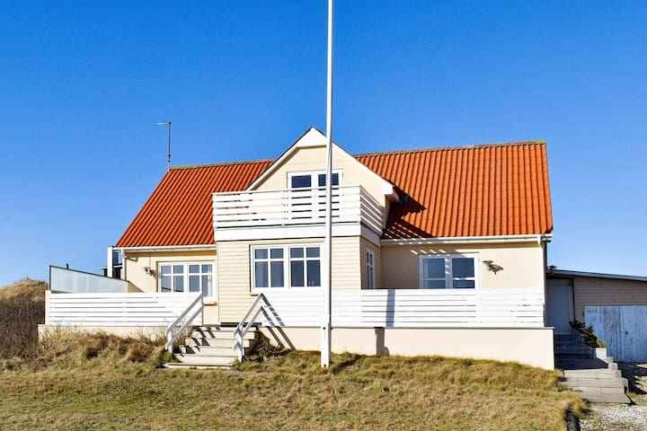 Scenic Holiday Home in Ringkøbing Near Sea