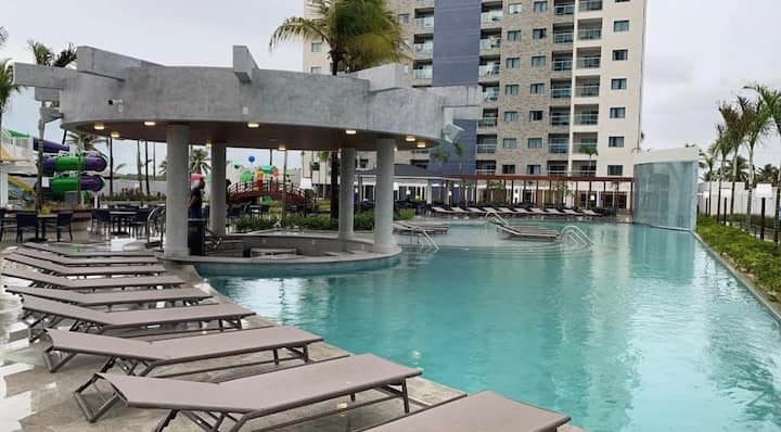 Flat maravilhoso no Salinas Exclusive Resort