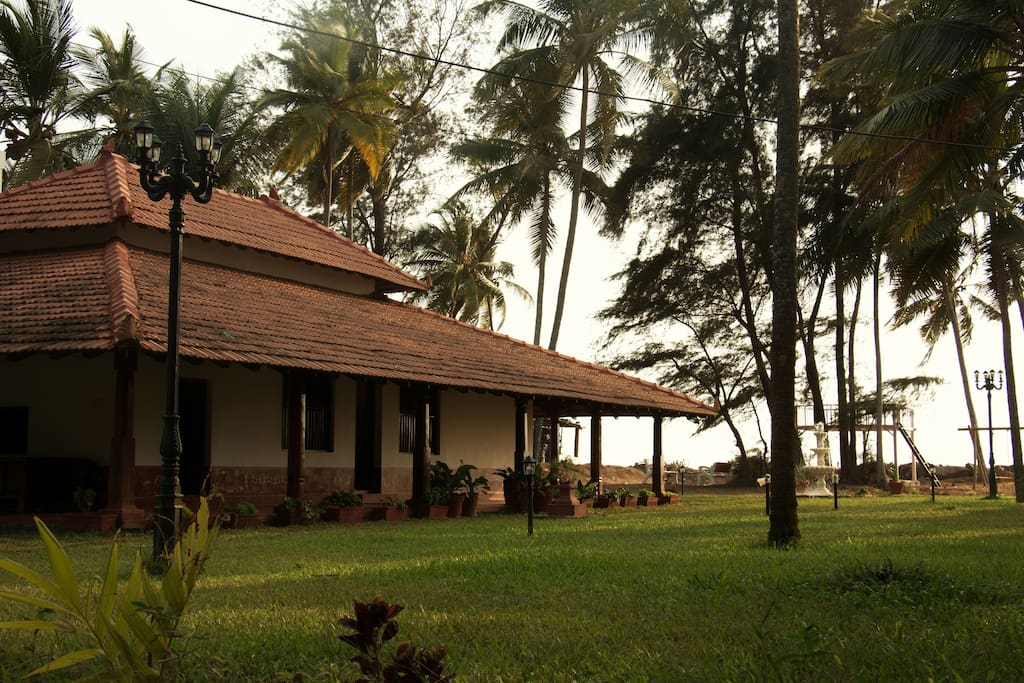 Vintage style villa with sea view in udupi houses for for Home styles com
