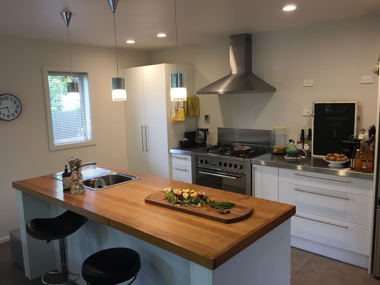 Gas hob dishwasher microwave toaster fridge and feeezer space