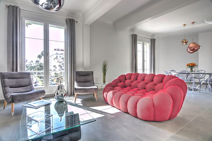 AGENCE CARON - Lux 4 Bedrs - 3Min from Croisette