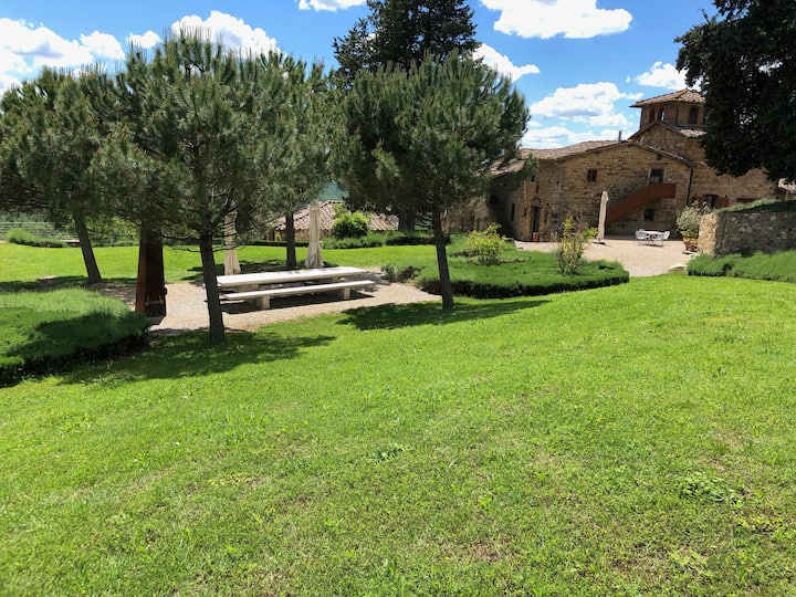 Holiday at the winery Poggio al Sole - Colombaia
