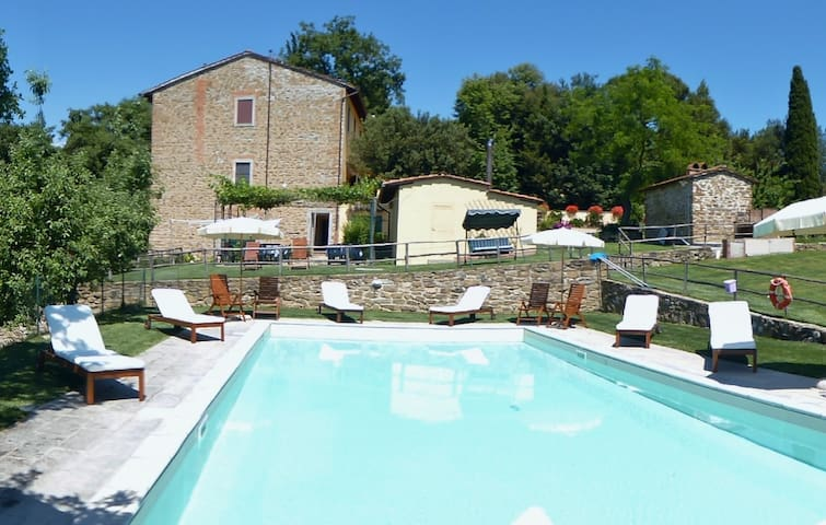 Charming studio/apartment, countryside of Florence - Scandicci - Leilighet