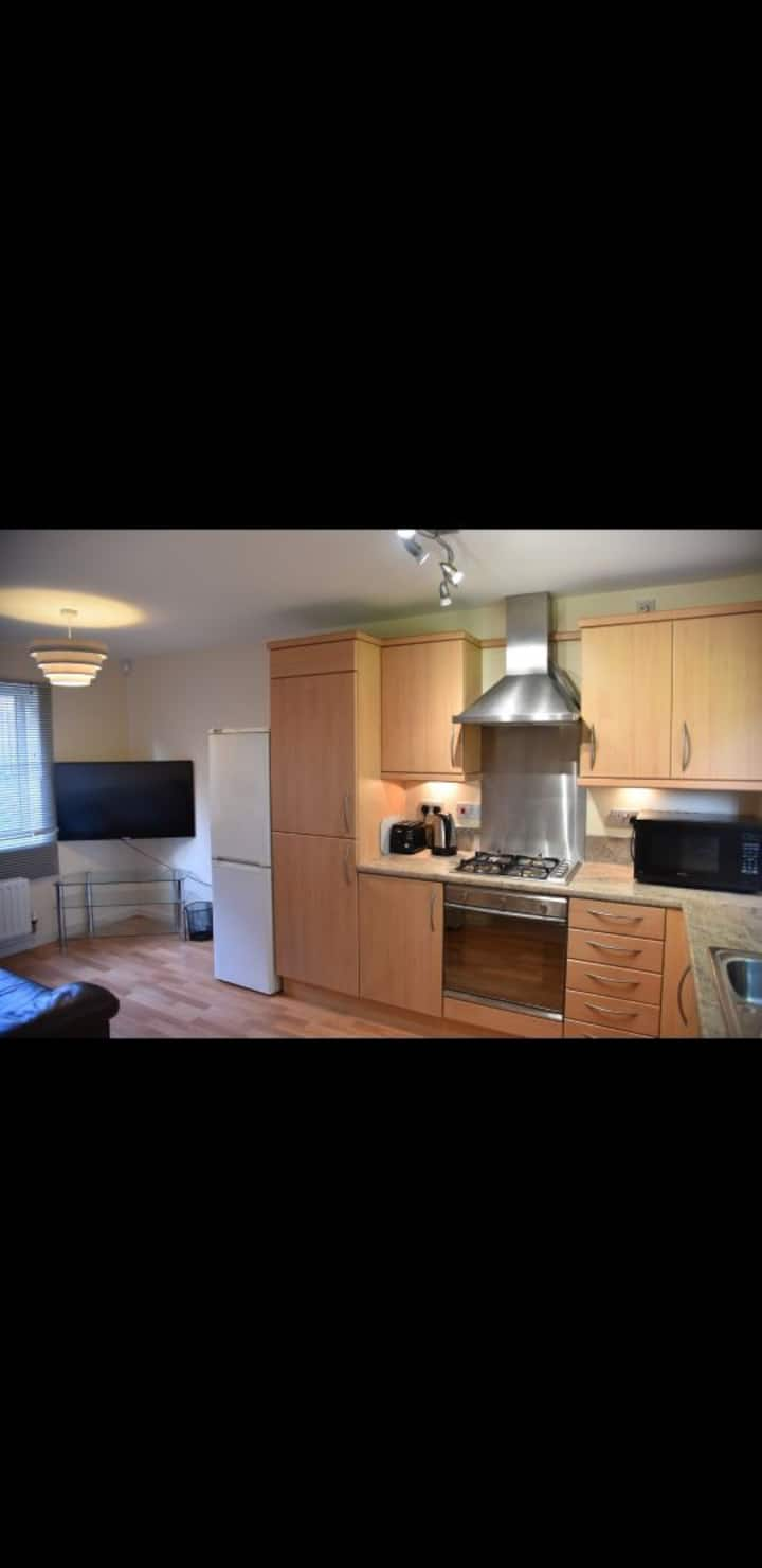 Double bedroom in a clean tidy houseshare