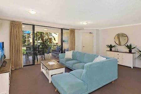Beautiful beachfront apartment Marcoola Beach