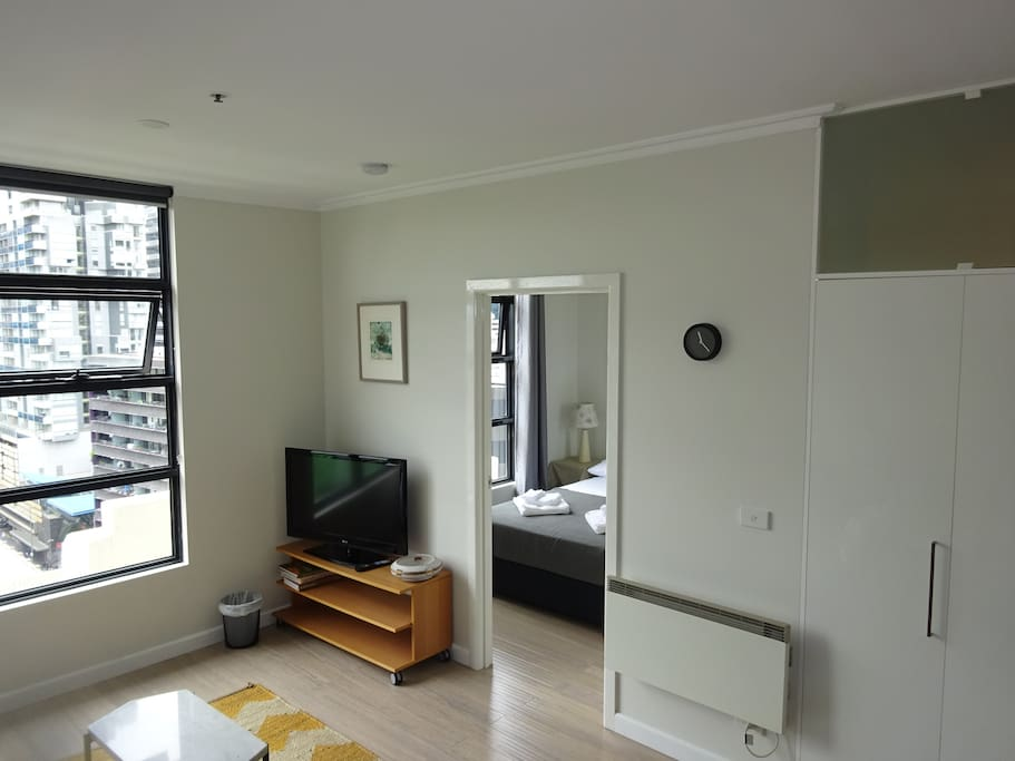 Lounge towards double bedroom