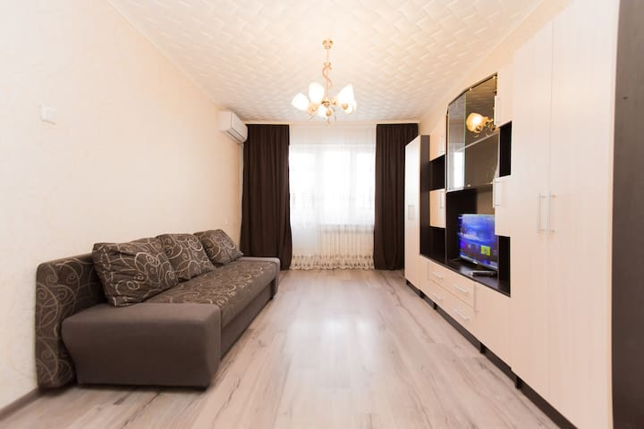 Cozy apartment in Kazakhfilm area