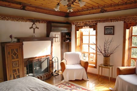 Private room with fire place - Şirince Köyü - Bed & Breakfast