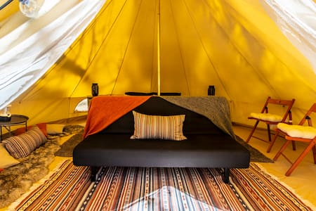 Mt. Laguna Glamping Retreat | Burnt Rancheria Camp