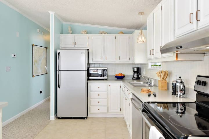 You'll love to cook in our kitchen! Fully equipped!