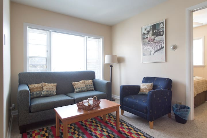 15 mins to Downtown Chicago & Near O'Hare Airport - Forest Park - Apartment