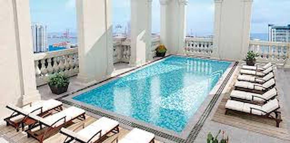 Luxury 03 Bedroom/Ocean View/ Pool/Gym/City/BF