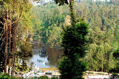 Avantara Amazing Lake View Woodhouses/Cabins