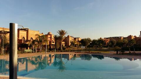 Hermoso Riad en el palmeral  Marrakec