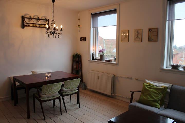 Cosy apt. 6 per., free parking - Søborg - Apartamento