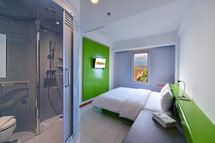 Twin Room Only With City View @SingarajaHotels