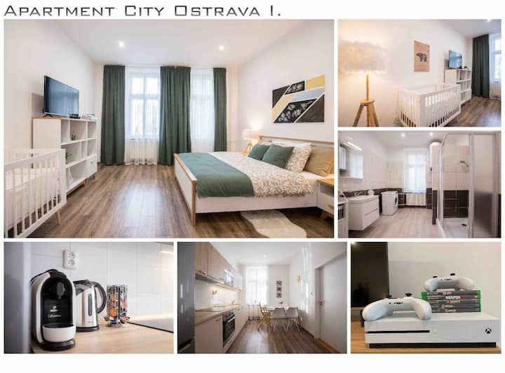 ❤❗FAMILY Apartment in OSTRAVA I. ❗ ❤