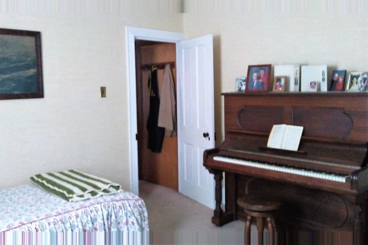 First floor single bed