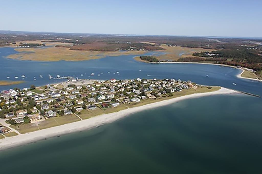 Aerial of Pine Point