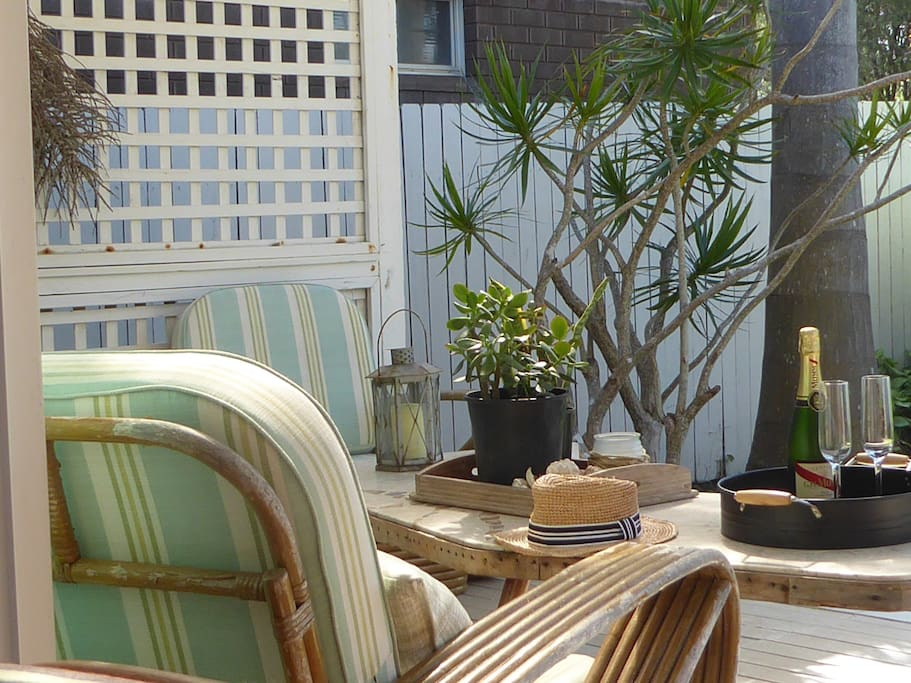 Back Deck - for relaxing