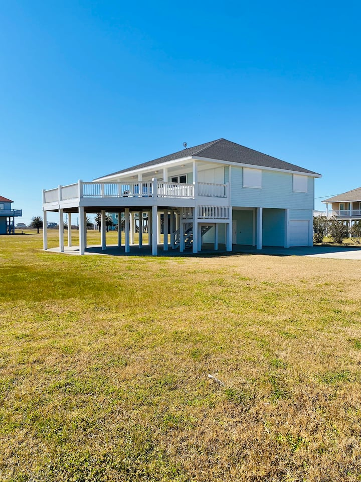 Beautiful beach front home in gated community