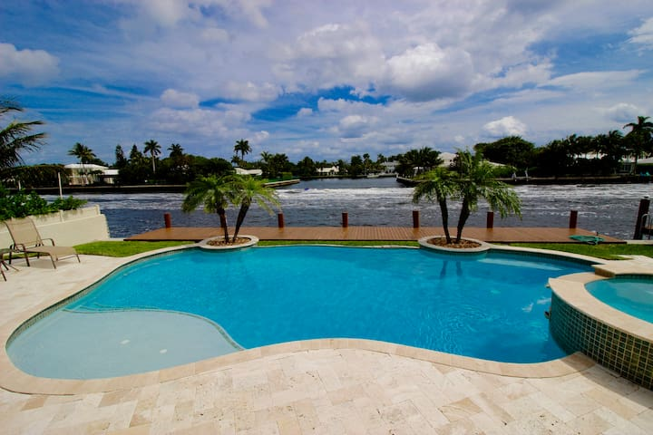 Gorgeous Intracoastal Canal Villa! - Delray Beach - Huis