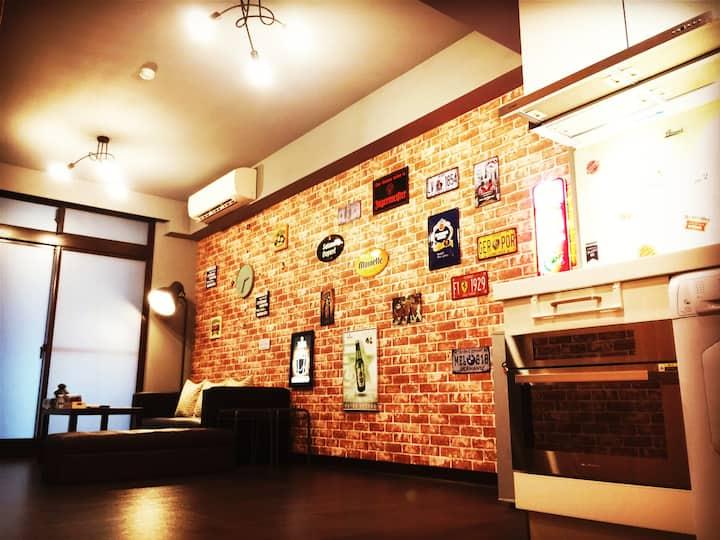 WowLoft@Ximending#2 BrandNew MRT LOFT House(1~8人)