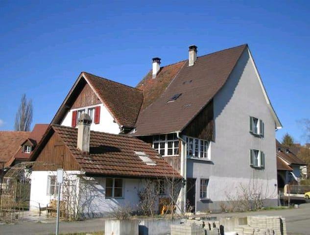 Übernachten im Bauernhaus, Farmer House - Arisdorf - บ้าน
