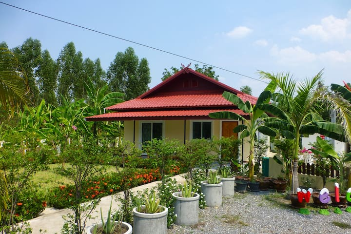 2 bedroom Pool villa with direct access to the pool. car Rental option as well