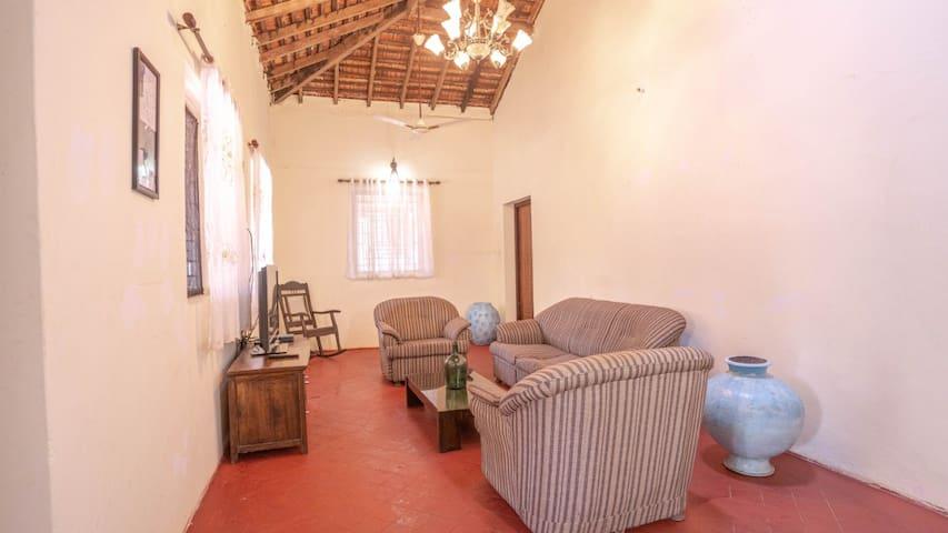 Portuguese house in North Goa