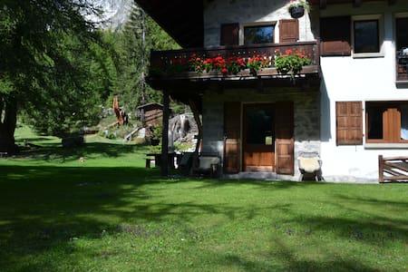 La casa nel bosco - Courmayeur - Appartamento