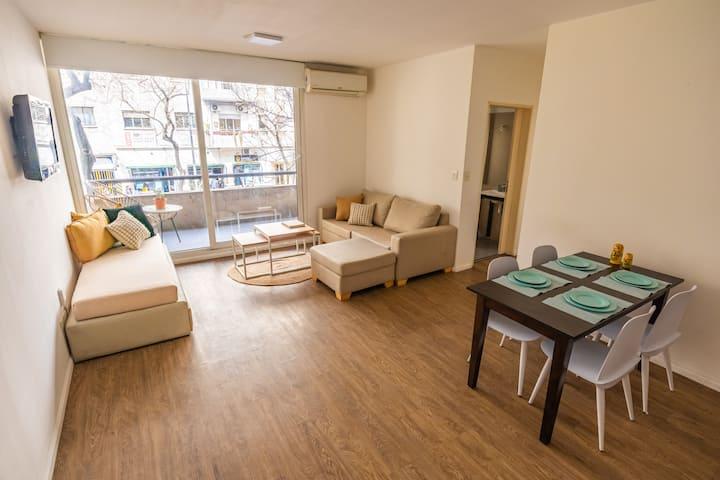 Moderno apartamento + piscina y laundry @San Telmo