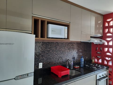 Apartment near the airport with swimming pool