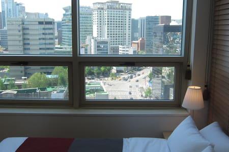 [insa-dong] city view -free wifi- - Jongno-gu - Appartamento