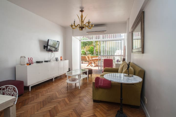 Single Room, Queen bed in Palermo Soho!!!! - Buenos Aires - Departamento