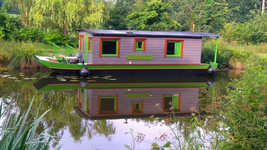 Osmonde bateau gîte - Québriac - Båt