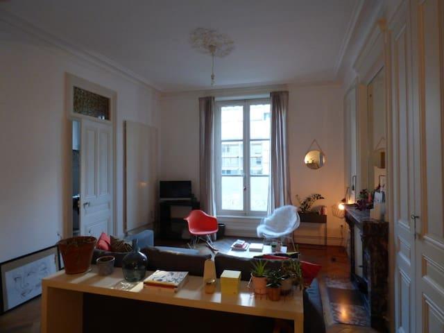 Appartement spacieux et cosy Place Carnot - Lyon - Apartamento
