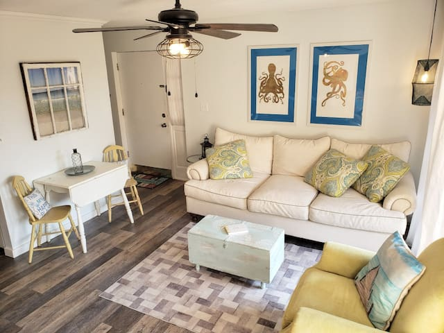 1 Bedroom, 1 1/2 Bath - Steps away from the beach!