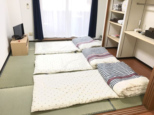 Quiet place / 6 min to Kyoto Station 十三 - Kyōto-shi - Apartment