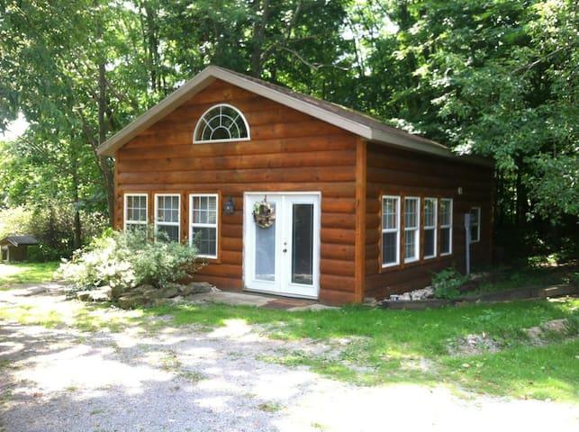 Mom's Log Cabin