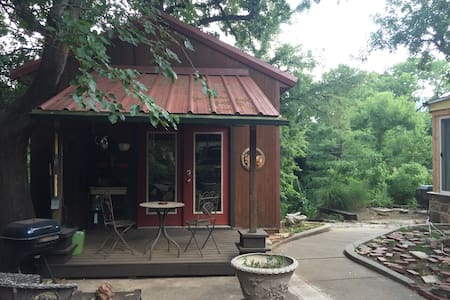 Cottage on the Creek - Oklahoma City - Hytte