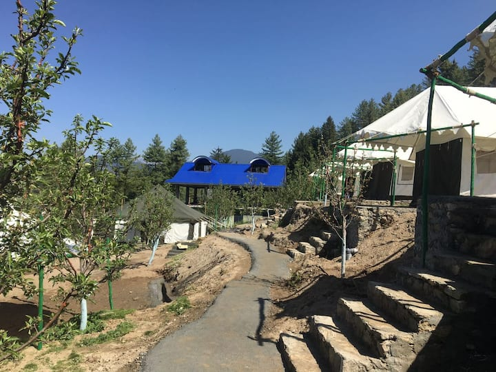 Swiss Cottage tents | All Meals | Chanshal Pass