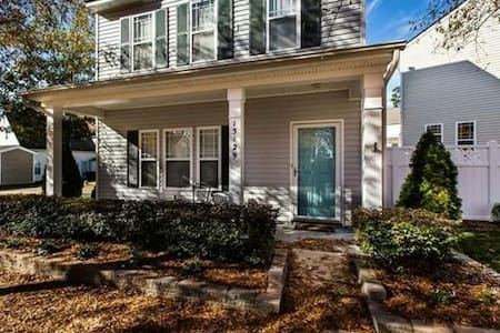 Private Bedroom near Charlotte/Huntersville - 特斯維爾(Huntersville) - 獨棟