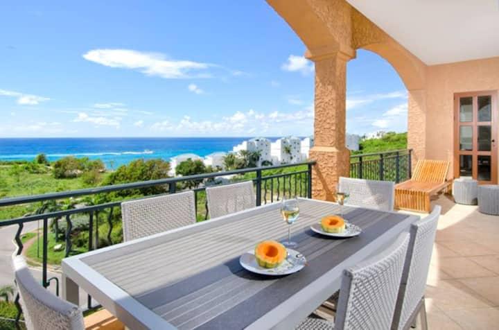 3BR condo Porto Cupecoy w/ big terrace,ocean views